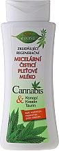 """Парфюми, Парфюмерия, козметика Мицеларно мляко за премахване на грим """"Коноп"""" - Bione Cosmetics Cannabis Cleansing Micellar Milk"""