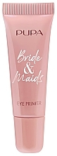 Парфюмерия и Козметика Изсветляваща основа за сенки за очи - Pupa Bride & Maids Eye Primer