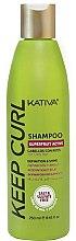 Парфюмерия и Козметика Шампоан за къдрава коса - Kativa Keep Curl Shampoo