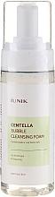 Парфюмерия и Козметика Успокояваща почистваща пяна за лице с готу кола - IUNIK Centella Bubble Cleansing Foam