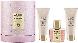 Парфюми, Парфюмерия, козметика Acqua di Parma Rosa Nobile - Комплект (парф. вода/100 ml + лос. за тяло/75ml + крем за тяло/75ml)
