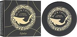 Парфюмерия и Козметика Хидрогелни пачове за очи с черен хайвер - Esfolio Black Caviar Hydrogel Eye Patch