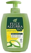 Парфюмерия и Козметика Течен сапун с алое и лимон - Felce Azzurra BIO Aloe Vera & Lemon Liquid Soap