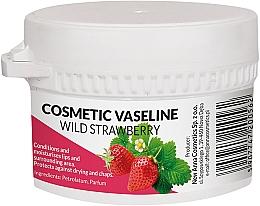 Парфюмерия и Козметика Козметичен вазелин за лице и устни с аромат на ягода - Pasmedic Cosmetic Vaseline Wild Strawberry
