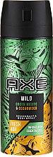 Парфюмерия и Козметика Спрей антиперспирант - Axe Wild Green Mojito & Cedarwood