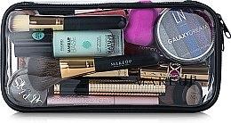 """Парфюми, Парфюмерия, козметика Козметичен прозрачен несесер """"Visible Bag"""" 25x12x8cm, (без съдържанието) - MakeUp"""