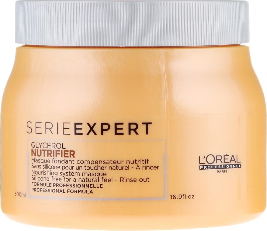Маска за коса - L'Oreal Professionnel Nutrifier Masque — снимка N3