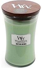 Парфюмерия и Козметика Ароматна свещ в чаша - WoodWick Hourglass Candle White Willow Moss
