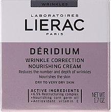 Парфюми, Парфюмерия, козметика Подхранващ крем против бръчки - Lierac Paris Deridium Wrinkle Correction Nourishing Cream