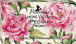 Парфюмерия и Козметика Натурален сапун с божур - Florinda Peony Natural Soap