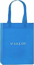 """Парфюмерия и Козметика Шопър чанта, светлосиня """"Springfield"""" - MakeUp Eco Friendly Tote Bag"""