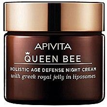 Парфюми, Парфюмерия, козметика Нощен крем за лице с комплексна защита против стареене - Apivita Queen Bee Holistic Age Defense Night Cream