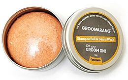 Парфюмерия и Козметика Твърд шампоан за брада - Groomarang Shampoo Ball & Beard Wash