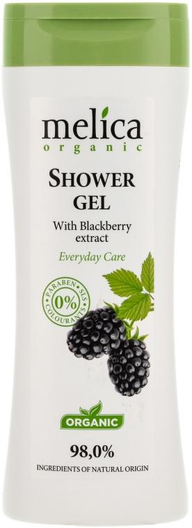 Душ гел с екстракт от къпина - Melica Organic Shower Gel — снимка N1