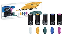Комплект лакове за нокти - NeoNail Professional Wyrazista Set (5 х nail/polish/3ml) — снимка N1