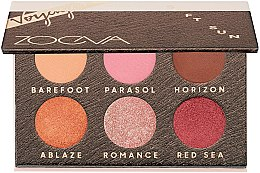 Парфюмерия и Козметика Палитра сенки за очи - Zoeva Soft Sun Voyager Eyeshadow Palette