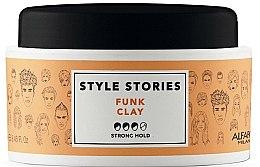 Парфюмерия и Козметика Стилизираща помада за коса със силна фиксация - Alfaparf Style Stories Funk Clay Strong Hold