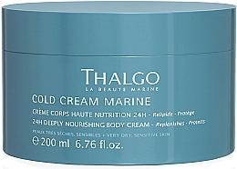 Парфюмерия и Козметика Възстановяващ наситен крем за тяло - Thalgo Cold Cream Marine Deeply Nourishing Body Cream
