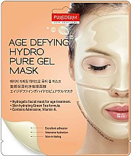 Парфюмерия и Козметика Хидрогелна антистарееща маска за лице - Purederm Age Defying Hydro Pure Gel Mask