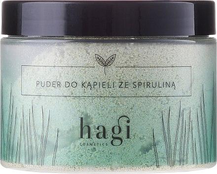 Пудра за вана със спирулина - Hagi Bath Puder — снимка N1