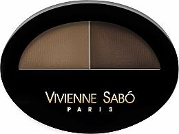 Парфюмерия и Козметика Сенки за вежди - Vivienne Sabo Brow Arcade