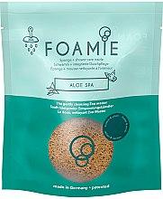 Парфюми, Парфюмерия, козметика Пенеща гъба за баня с аромат на алое - Foamie Aloe Spa