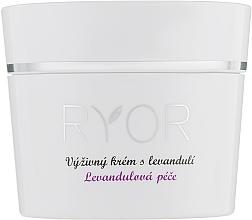 Парфюмерия и Козметика Подхранващ крем за лице с лавандула - Ryor Lavender Nourishing Face Cream
