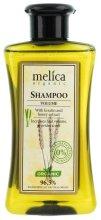 """Парфюмерия и Козметика Шампоан за коса """"Голям обем"""" с екстракт от кератин и мед - Melica Organic Volume Shampoo"""