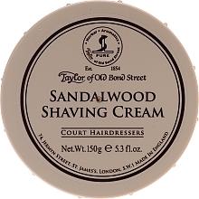 Парфюмерия и Козметика Крем за бръснене с аромат на сандалово дърво - Taylor of Old Bond Street Sandalwood Shaving Cream Bowl