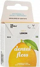 """Парфюмерия и Козметика Конец за зъби """"Лимон"""" - The Humble Co. Dental Floss Lemon"""