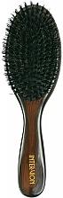 Парфюмерия и Козметика Четка за коса 499537, дървена - Inter-Vion