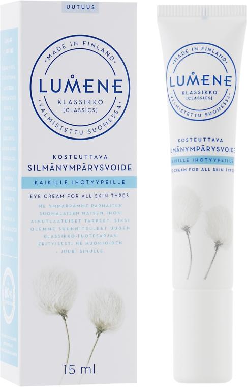 Възстановяващ околоочен крем - Lumene Klassikko Moisturizing Eye Cream