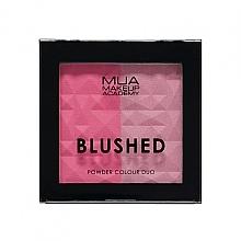 Парфюмерия и Козметика Двоен руж за лице - MUA Blushed Powder Colour Duo