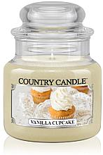 "Парфюми, Парфюмерия, козметика Ароматна свещ в бурканче ""Ванилов къпкейк"" - Country Candle Vanilla Cupcake"