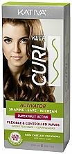 Парфюмерия и Козметика Активатор за къдрици - Kativa Keep Curl Superfruit Active