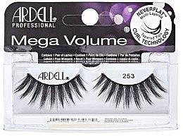 Парфюми, Парфюмерия, козметика Изкуствени мигли - Ardell Mega Volume 253 Black