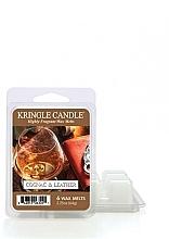 Парфюмерия и Козметика Ароматен восък - Kringle Candle Cognac & Leather Wax Melt