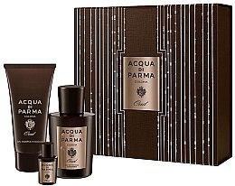 Парфюми, Парфюмерия, козметика Acqua di Parma Colonia Oud - Комплект (edc/100ml + edc/5ml + sh/gel/75ml)
