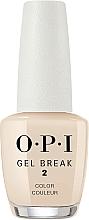 Парфюмерия и Козметика Укрепващо цветно покритие - O.P.I Gel Break Lacquer