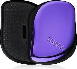 Парфюми, Парфюмерия, козметика Компактна четка за коса - Tangle Teezer Compact Styler Purple Dazzle Brush