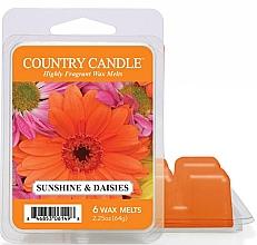 Парфюмерия и Козметика Восък за арома лампа - Country Candle Sunshine & Daisies Wax Melts
