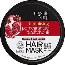 """Парфюми, Парфюмерия, козметика Маска за коса """"Нар и пачули"""" - Organic Shop Mask Pomegranate and Patchouli"""