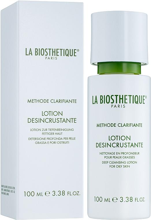 Дълбоко почистващ лосион за мазна кожа - La Biosthetique Methode Clarifiante Lotion Dйsincrustante
