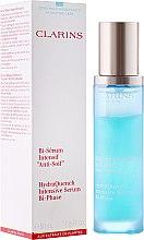 Парфюми, Парфюмерия, козметика Серум за дехидратирана кожа - Clarins HydraQuench Intensive Serum Bi-Phase