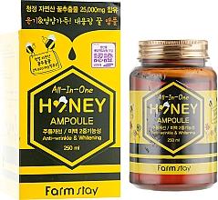 Парфюмерия и Козметика Многофункционален серум за лице с мед - FarmStay All-In-One Honey Ampoule