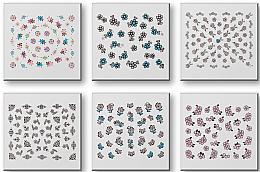 Парфюми, Парфюмерия, козметика Комплект лепенки за нокти 42942 - Top Choice Nail Decorations Stickers Set