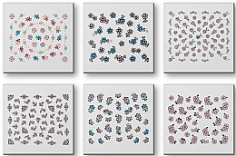 Парфюмерия и Козметика Комплект лепенки за нокти 42942 - Top Choice Nail Decorations Stickers Set