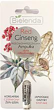 Парфюмерия и Козметика Ампула за лице против бръчки с корен от червен женшен - Bielenda Red Ginseng