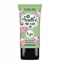 Парфюми, Парфюмерия, козметика Подхранващо масло за ръце с екстракт от смокиня - Floslek Nourishing Hand Butter Figa