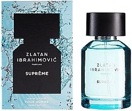 Парфюмерия и Козметика Zlatan Ibrahimovic Supreme Pour Homme - Тоалетна вода